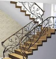 Изготовление кованой лестницы
