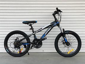 """Горный Велосипед TopRider 20 дюймов """"611"""" синий"""