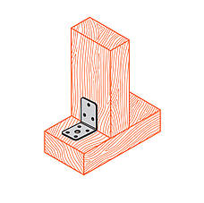Куточок перфорований асиметричний ,уголок з різними сторонами 90х60х60х2,5 мм. ТМ Кольчуга (Kolchuga), фото 2