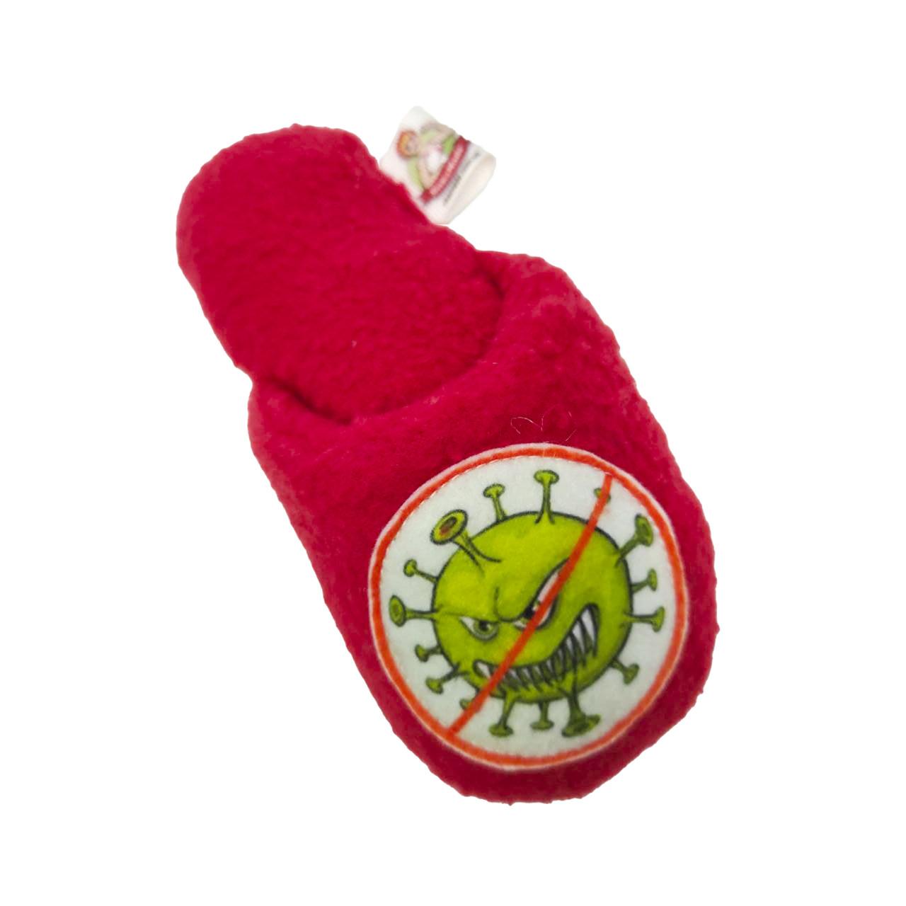 Іграшка для домашніх тварин тапок.