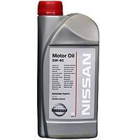 Моторное масло Nissan 5w40, 1L