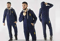 """Стильный утепленный мужской спортивный костюм  """" Polo """" Dress Code"""