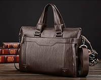Мужской деловой портфель Мужская сумка для документов LEINASEN