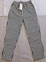 """Штани жіночі на шнурівці однотонні в смужку,(5кол.)р-ри 42-50 """"WELL"""" купити недорого від прямого постачальника"""