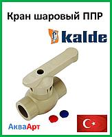 Кран шаровый 75 Kalde