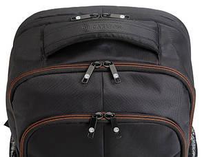 Рюкзак повсякденний (Міський) з відділенням для ноутбука CARLTON Baron 910J120;01 чорний, фото 2
