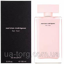 Жіноча парфумована вода Narciso Rodriguez For Her 100 мл (Euro)