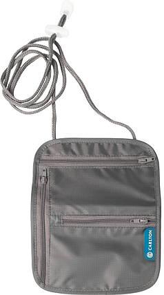 Гаманець для документів та грошей Carlton Travel Accessories NCKPCHGRY;02 сірий, фото 2