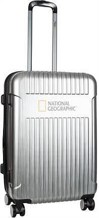 Валіза National Geographic Transit N115HA.60;23 сріблястий, фото 2