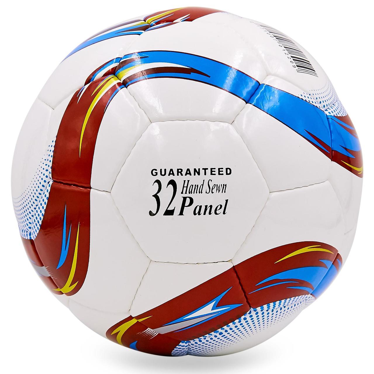 Мяч футбольный №5 PU ламин. EURO 2016 FB-6442 (№5, 5 сл., сшит вручную)