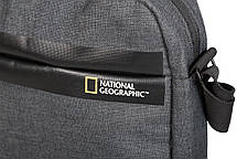 Повсякденна Сумка з відділенням для планшета National Geographic Stream N13105;89 антрацит, фото 2