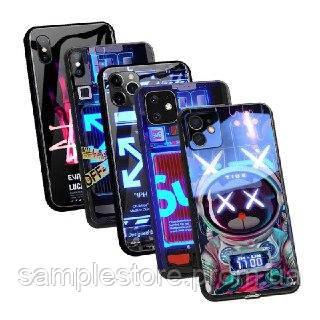 Чехол для Iphone с разноцветной LED-подсветкой