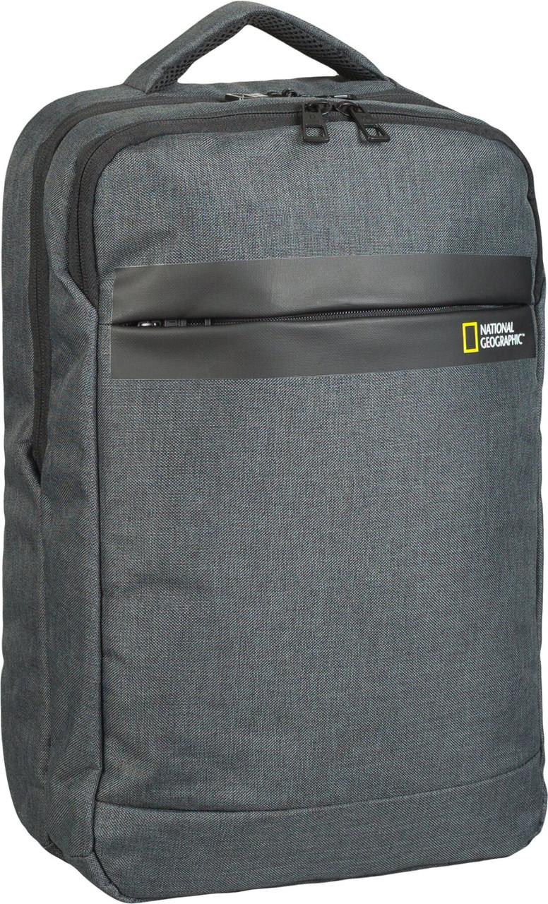 Рюкзак повсякденний (Міський) з відділенням для ноутбука National Geographic Stream N13110;89 антрацит