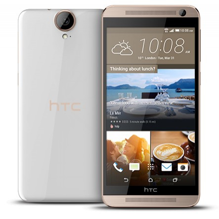 Смартфон HTC One E9 White Rose Gold