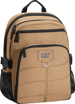 Рюкзак повсякденний (Міський) з відділенням для ноутбука CAT Millennial Classic 83435;353 кавовий, фото 2