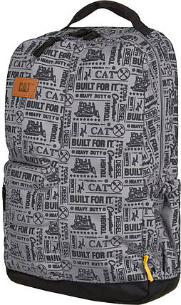 Рюкзак повсякденний CAT Millennial BFI AOP 83457;346 сірий/трактори, фото 2
