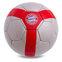 Мяч футбольный №5 Гриппи 5сл. BAYERN MUNCHEN FB-0602 (№5, 5 сл., сшит вручную)