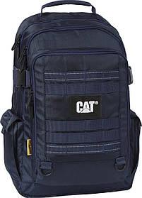 Рюкзак повседневный с отделением для ноутбука CAT Combat Visiflash 83393;230 темно-синий