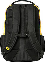 Рюкзак повсякденний з відділенням для ноутбука CAT Millennial Classic 83605;12 чорний/жовтий, фото 2