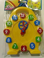 Іграшка годинник Технок.Дитячі пластикові годинник