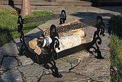 Декоративная дровница из стали (собственное производство), фото 2