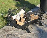 Декоративная дровница из стали (собственное производство)