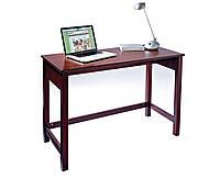 Стол письменный компьютерный из массива дерева 041