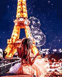 Картина по номерам Mariposa Мечты исполняются в Париже (MR-Q2272) 40 х 50 см