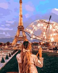 Картина по номерам Mariposa Визитная карточка Парижа (MR-Q2274) 40 х 50 см