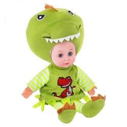 М'яка лялька Динозаврик, 40 см, музична