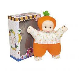 """Текстильна лялька, музична """"Lucky Baby"""", 27 см"""
