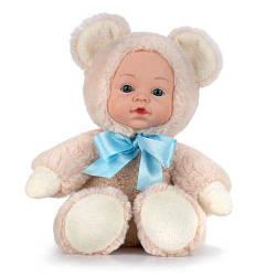 М'яка лялька пупс Ведмедик, 30 см, Fancy