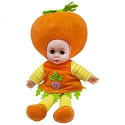 М'яконабивна лялька Морквина, 37 см, музична