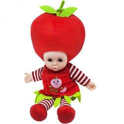 Мягкая кукла Яблочко, 37 см, музыкальная