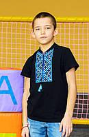 Детская вышитая футболка для мальчика