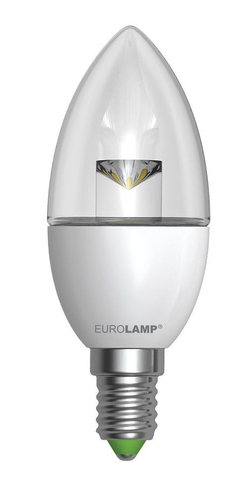 Светодиодная лампа EUROLAMP EKO 6Вт CL/пр E14