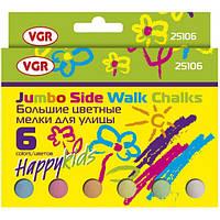 Мел цветной VGR 25106 6шт, картонная упаковка