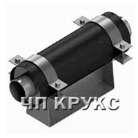 Ковзні хомутові опори для трубопроводів Ду 50-80 мм