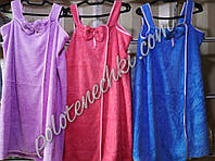 Полотенце халат микрофибра Бантик (3)
