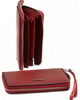 Кошелек женский кожа Alessandro Paoli WS-38 red