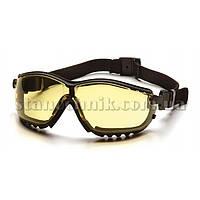 Очки защитные PYRAMEX V2G (желтые)
