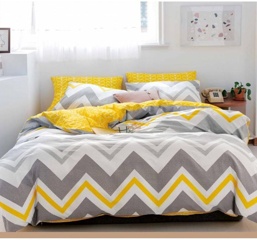 Комплект постельного белья Евро 200Х220 СатинХлопок 100% VIP TLG 20104 Love You
