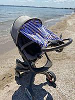 "Солнцезащитная шторка на коляску ""Marine"""