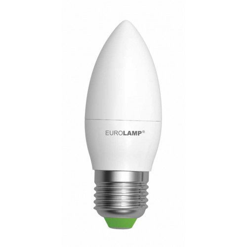 Светодиодная лампа EUROLAMP EKO 6Вт CL E27