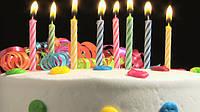 Магические свечи для праздничного торта!