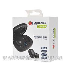 Навушники блютуз florence fl-0256-k
