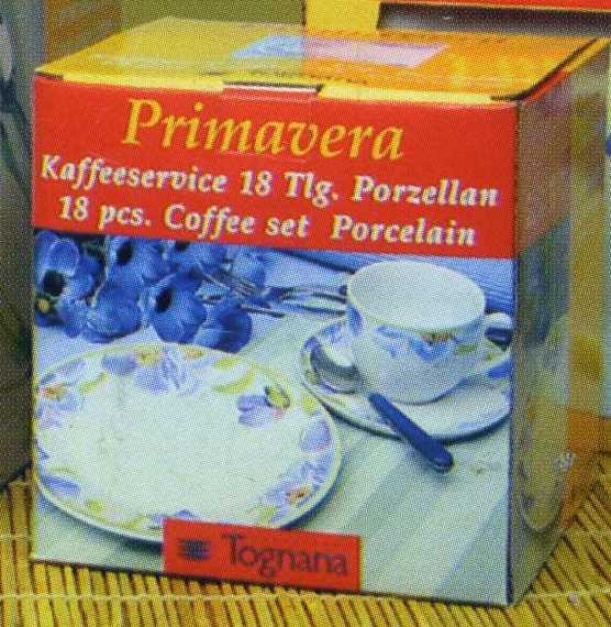 Сервиз кофейный 18 предметов Olimpia