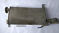 Глушитель задняя часть Mitsubishi Grandis