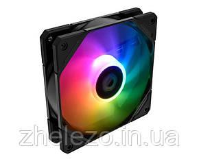 Вентилятор ID-Cooling TF-12025-ARGB, 120x120x25мм, 4-pin PWM, черный, фото 2