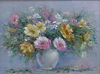 «Пробуждение цветов» картина маслом